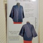 Jacket pattern with sashiko embellishment