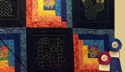 2016  quilt by Barbara M. Mummers - DETAIL