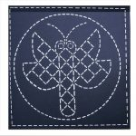 Design inspired by ancient Mimbres Pottery discovered in SW New Mexico.